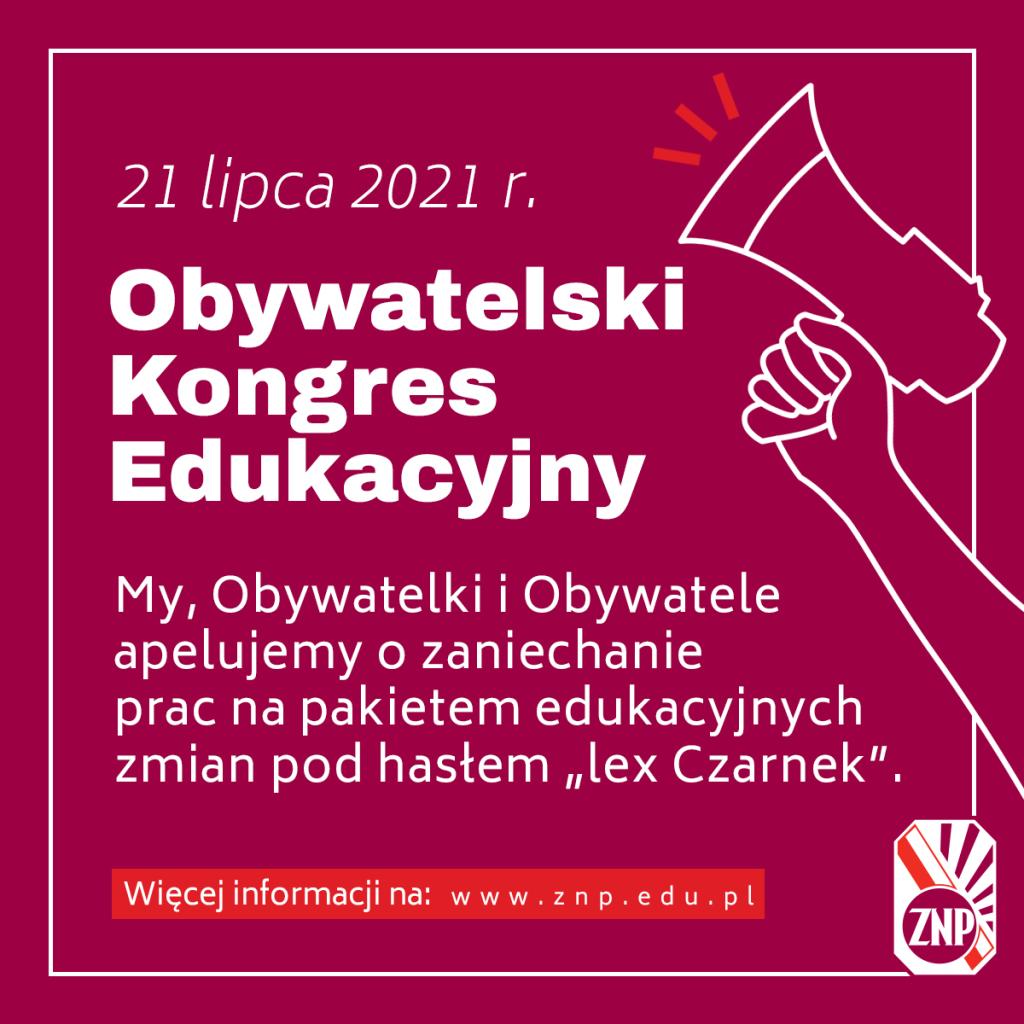 obywatelski_kongres_edukacyjny_post_fb_kwadrat_lex_czarnek